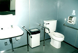 Toilets for the disabled